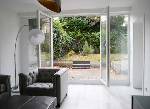 Möblierte Wohnung mit Stil und eigenem Garten...