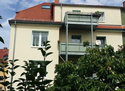 Gotha, zentrumsnahe 4 Raum-WHG mit Balkon und großer Wohnküche im DG eines 4-Familienhauses
