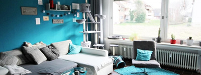 Zentrumsnahe 2-3 Zimmer Erdgeschosswohnung mit Loggia