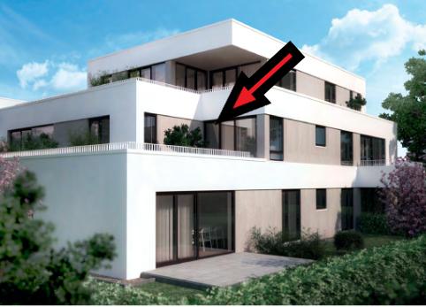 Stilvolle 3-Zimmer-Wohnung mit großer Terrasse in Aichach