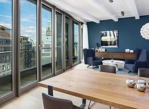 Einmaliger Lifestyle: Hochwertig eingerichtetes Wohnloft nahe Rathaus und Jungfernstieg