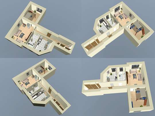Hohe ruhige 2-Zim. Altbauwohnung nahe Tempelhofer Feld - Bild 21