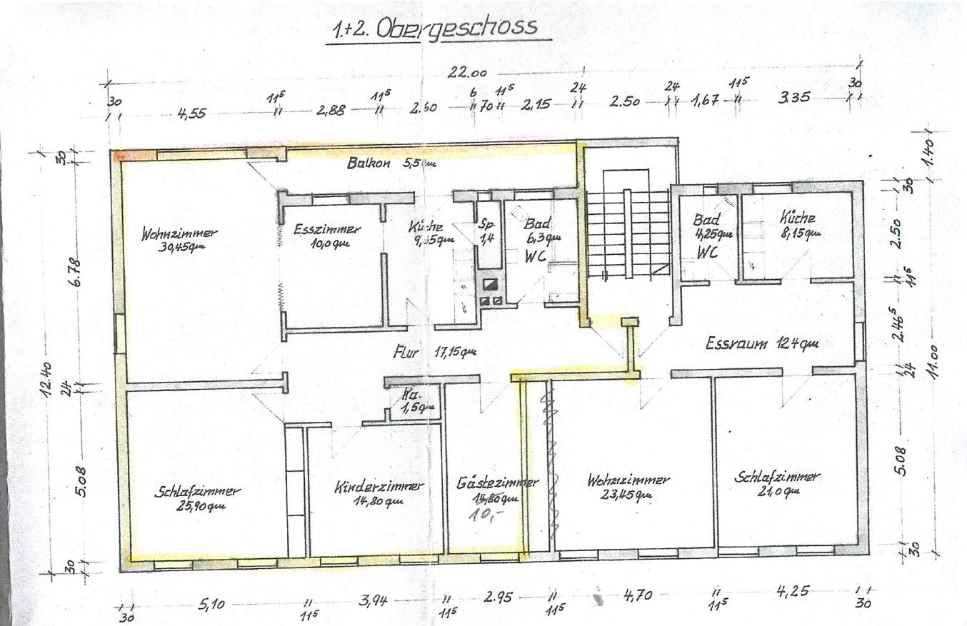 Stilvolle, gepflegte 4,5-Zimmer-Wohnung mit Balkon in Ottobrunn