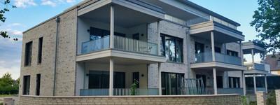 Komfort-EG.-Whg. auf 111 m² mit Lift im seniorengerechtem Neubau/Erstbezug mit Blick ins Grüne