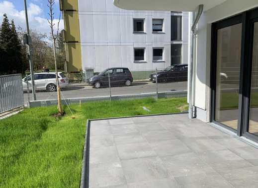 Neubau-Ersbezug Garten-Wohnung