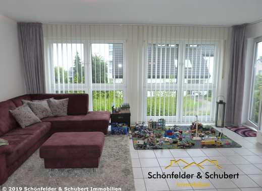 Helle 3,5 Raum-Wohnung mit Terrasse und Garten in einer ruhigen, landschaftlich schönen Wohnlage