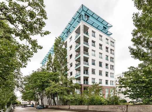 Moderne Eigentumswohnung nahe der TU in Charlottenburg mit Balkon und Blick über Berlin