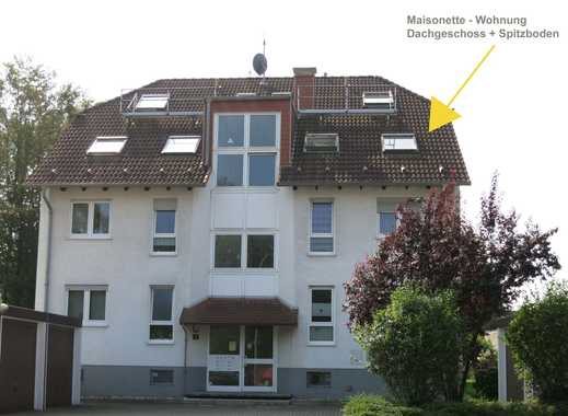 Helle Maisonette - Dachgeschosswohnung in zentraler Ortsrandlage