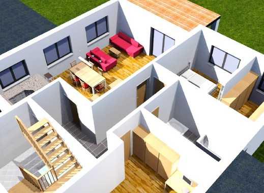 Neubauprojekt - Erdgeschosswohnung mit Terrasse und Gartenanteil