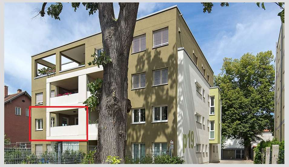 Stilvolle, geräumige und gepflegte 2-Zimmer-Wohnung mit Balkon in Augsburg in Augsburg-Innenstadt