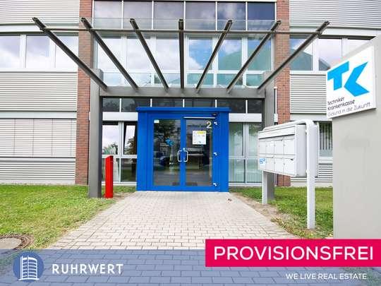 Eingang von Hoher Standard am Musikweg! Halbe Büroetage mit ca. 300 m² zu vermieten.