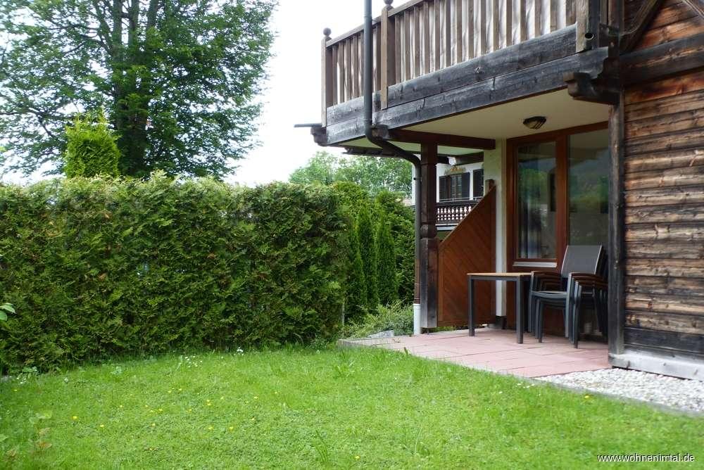 Bad Wiessee, Ideales Ferien-Apartement mit Terrasse und Garten in Bad Wiessee