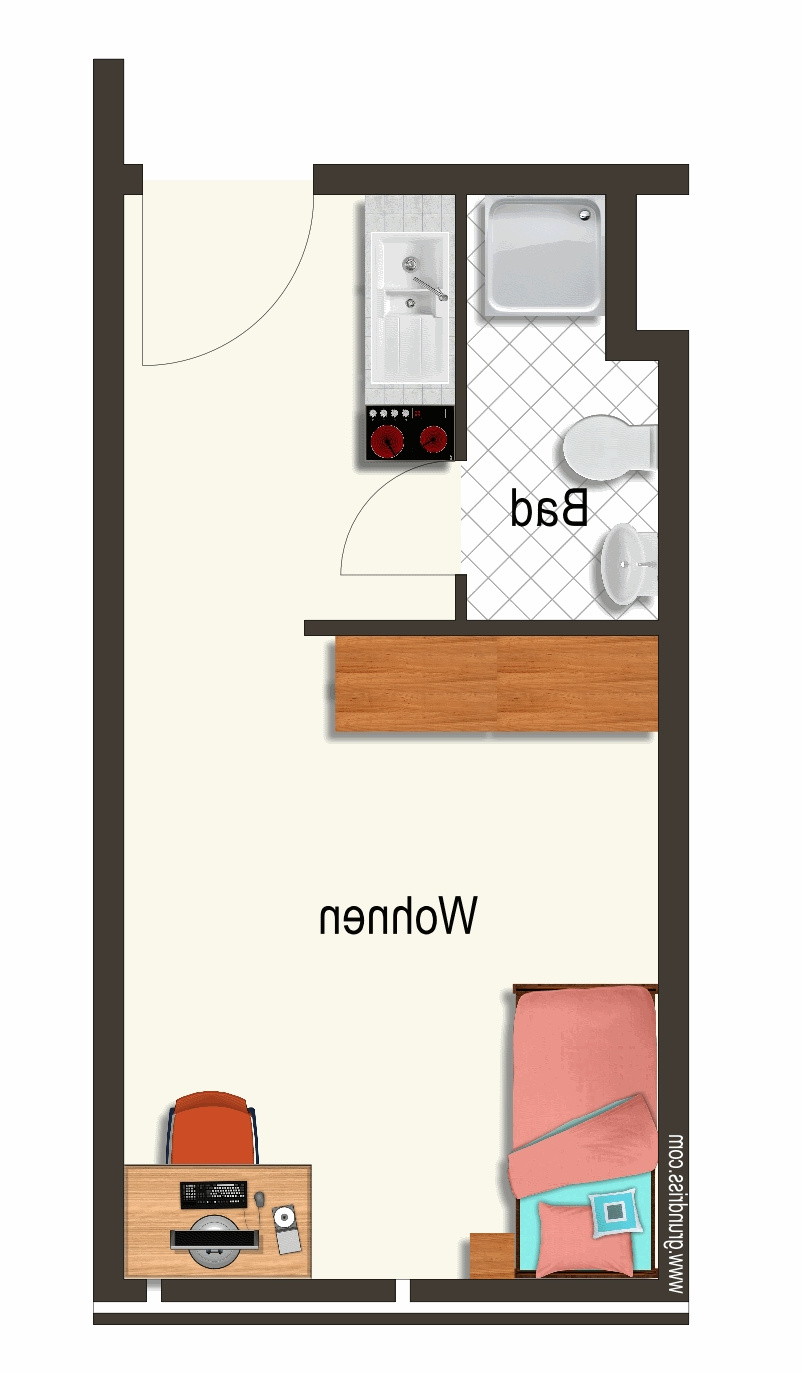 Nachmieter gesucht für 1-Zimmer-Wohnung in Bahnhofsnähe in
