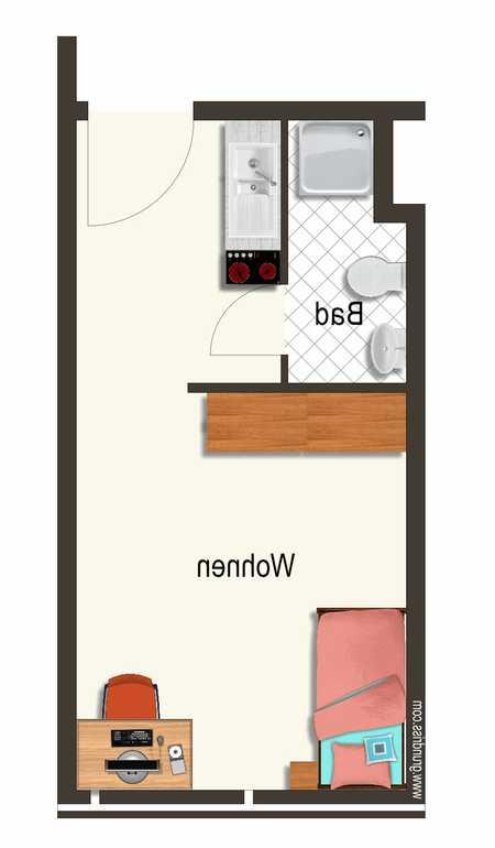 Nachmieter gesucht für 1-Zimmer-Wohnung in Bahnhofsnähe in Erlangen - Zentrum (Erlangen)