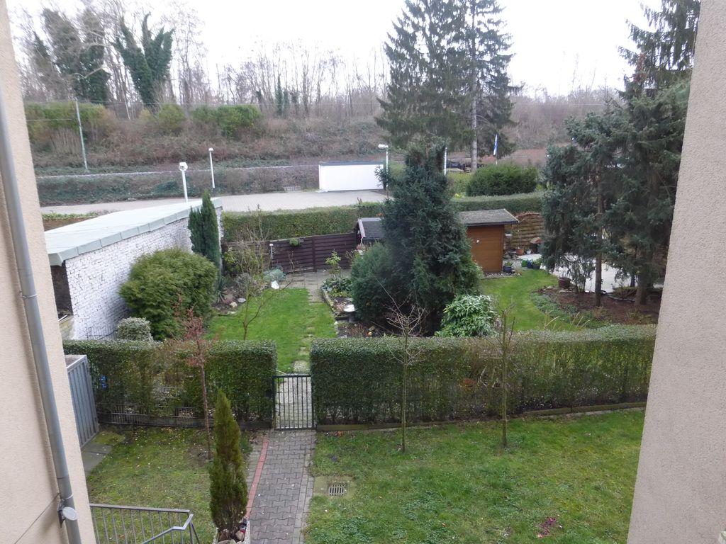 Herrlicher Ausblick auf Gärten