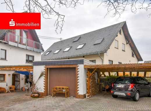 Charmante Doppelhaushälfte mit Garage und Doppelcarport in Wallmerod