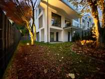 Erstbezug-Gartenwohnung mit fast 120 m²