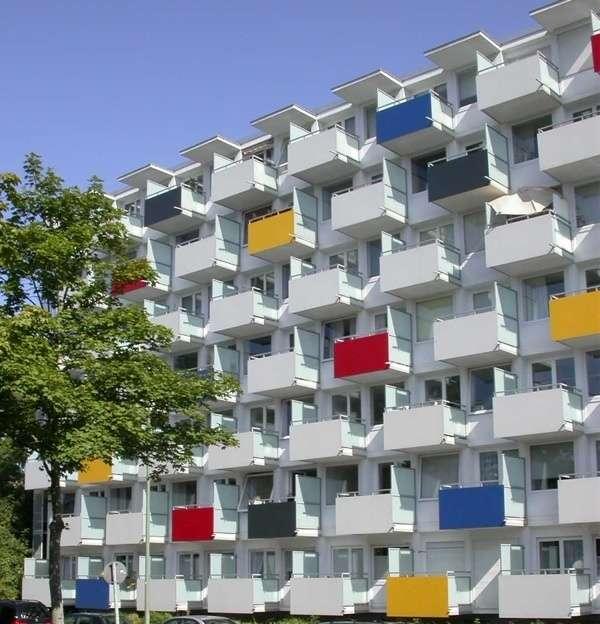 990 € warm, inkl. aller NK, möbliertes Appartement, zentral am Arabellapark in Bogenhausen (München)