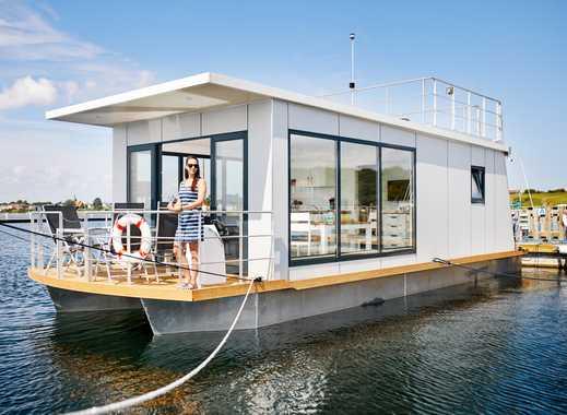 Hausboot - Schwimmendes Ferienhaus für Selbstnutzer auf der Insel Rügen Vieregge Ostsee