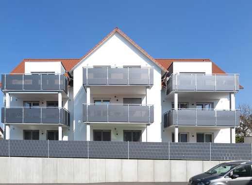 Ulm-Jungingen neuwertige 3-Zi.-Wohnung im DG mit sonnigem Westbalkon, EBK und TG