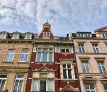 Bild FRIEDERICH: Denkmalgeschütztes Einfamilienhaus mit Gewerbeetage und Garage im Frankenberger Viertel