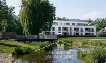 Traumwohnung in Traumlage: Erstbezug 3-Zimmer-OG-Whg. mit EBK, Aufzug u. 2 TG-Stellplätzen in Beilngries