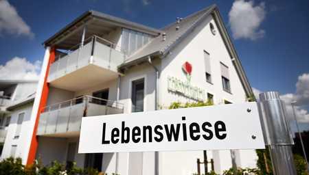 Neubau für Ambulant betreutes Wohnen - 1 Zimmer in 3er WG in Horgau ! NUR MIT WBS I ! in Horgau