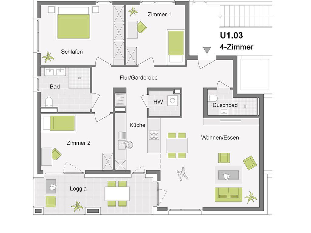 U1.03 4-Zimmer