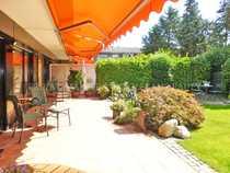 Schicke Garten EG-Wohnung Garage Einbauküche