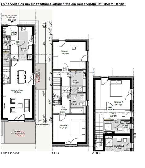 Modernes 4-Zimmer Stadthaus im Neubaugebiet Constantinquartier
