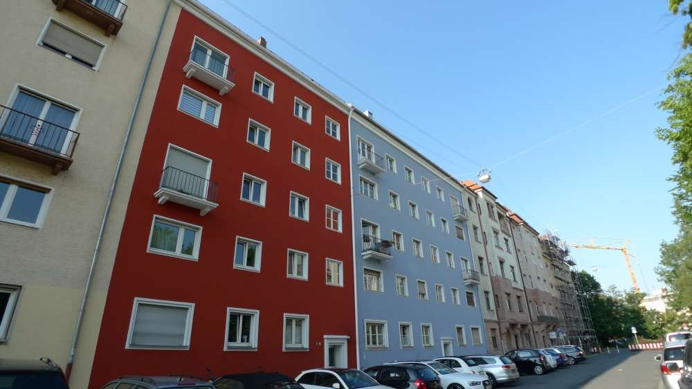 Zentral und ruhig gelegene 4-Zimmer-Wohnung mit Balkon, EBK und Gartennutzung in St. Johannis in Bielingplatz (Nürnberg)