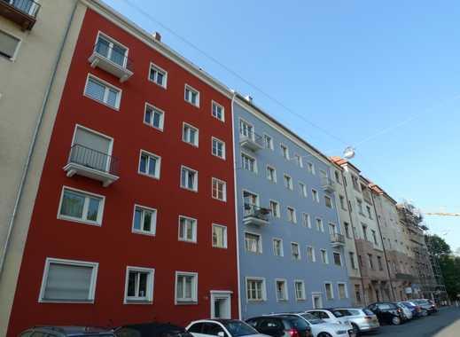 Zentral und ruhig gelegene 4-Zimmer-Wohnung mit Balkon und Gartennutzung in St. Johannis