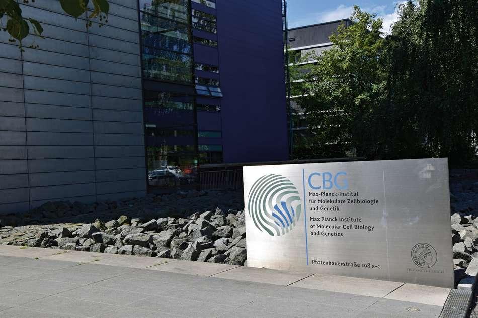 Eingang Max-Planck-Institut