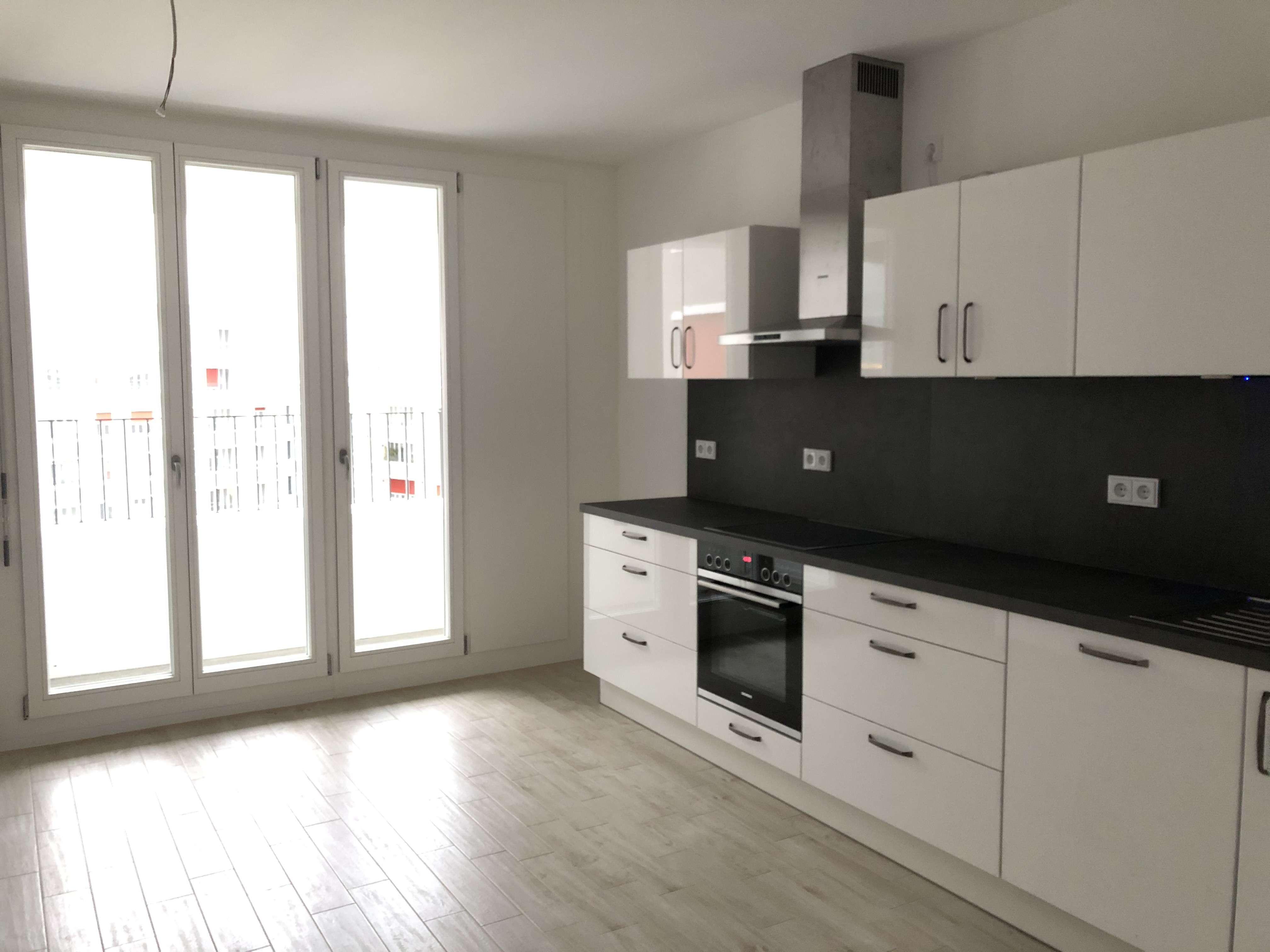 PASING-OBERMENZING (NEUBAU-ERSTBEZUG): 3-Zimmer-Wohnung mit schöner Einbauküche in Obermenzing (München)