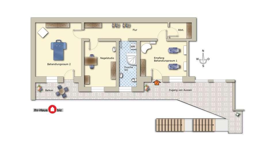 WE 7 Wohnung - Gewerbe