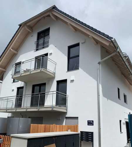 Neubau - Erstbezug: moderne 2-Zimmerwohnung mit Balkon in ruhiger Lage in Perlach (München)
