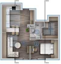 Exklusive 2 Zimmer Spitzbodenwohnung