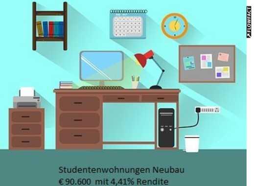 Studentenwohnung mit 4,41% Rendite