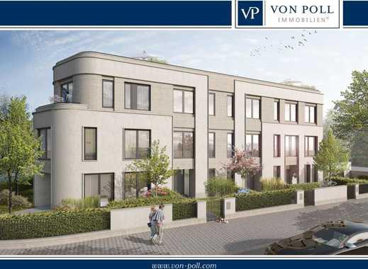 Neubau Diplomatenviertel: Spektakuläre Stadtvilla mit Garten und Dachterrasse