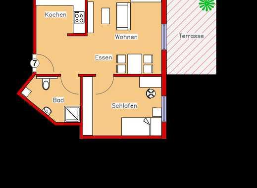 Erstbezug: Schönes Appartement mit Parkett, Einbauküche und Terrasse (R7)