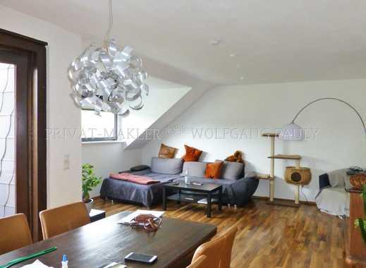 Sonnige Dach-Loggia, Fußboden-Heizung, Gäste-WC ++ Inklusive Einbauküche