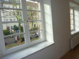 schöne Fensterfront