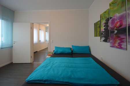 2-Zimmer Apartment, vollmöbliert, gute Verkehrsanbindung - Highlight ist der Seeblick in Großwallstadt