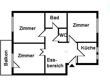 WG´s aufgepasst! Moderne 3½-Zimmer-Wohnung in Regensburg Nähe Alex-Center in Sallern-Gallingkofen (Regensburg)