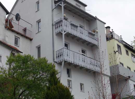 Liebhaberobjekt. Hechingen/Oberstadt. Wohn-/Geschäftshaus (2 x 3,5-Zi.-Whg. + Gewerbe) - bezugsfrei!