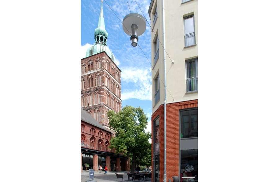 Blick auf die Nikolaikirche
