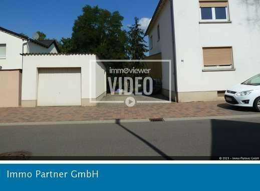 Renovierte 3 Zimmer-Wohnung mit Balkon, Garage und großer Garten in Bellheim