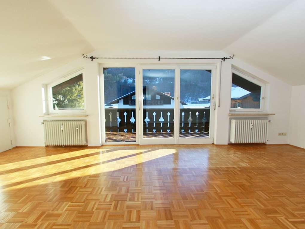 Gepflegte 2,5 Zi.-Dachgeschoss-Wohnung in Garmisch-Partenkirchen