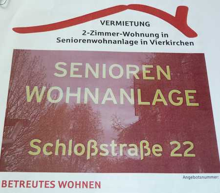 Senioren Wohnanlage Schloßsstraße 22  Betreutes Wohnen der Caritas für Senioren ab 60 Plus in Vierkirchen