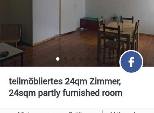 Teilmöbliertes 24qm Zimmer Friedrichshain